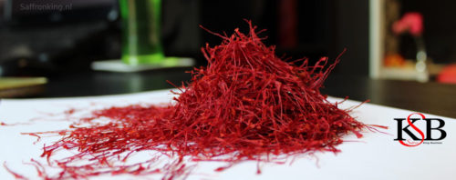 Export of saffron